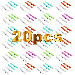 20x Blade Propeller Rotorblätter WLtoys V272 V676 RC Quadcopter Revell Nano