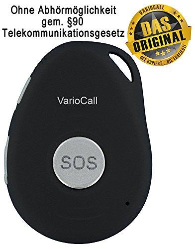 VarioCall Personen-Ortung über GPS, Mini Notrufsender mit Telefonie-Möglichkeit, Personen-Tracker, Sicherheit für Demente, Lone Worker, Läufer, Mountain Biker, Wanderer, etc.