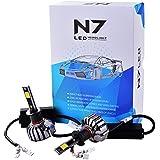 XCSOURCE 2pcs 80W 9600LM Phare LED Voiture Auto COB H1 Kit Ampoules Faisceau Etanche 6000K Blanc LD908