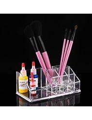 Kosmetik Make Up Organizer Aufbewahrung Ordnungsständer 9 Fächer Acryl