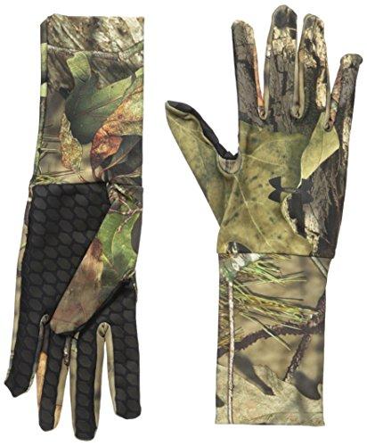 Under Armour Herren ColdGear Camo Liner Handschuhe, Herren, 1203060, Mossy Oak Open Count/Black, Größe S