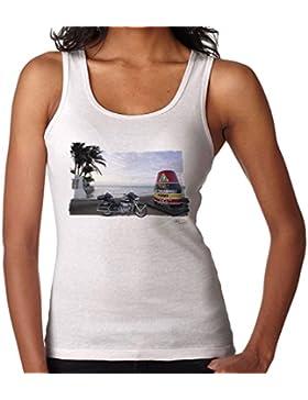 POD66 Harley Davidson Key West White Women'S Vest