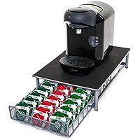 Home Treats - Tiroir pour café Tassimo –60 emplacements pour capsules– Surface antidérapante et anti-vibrations
