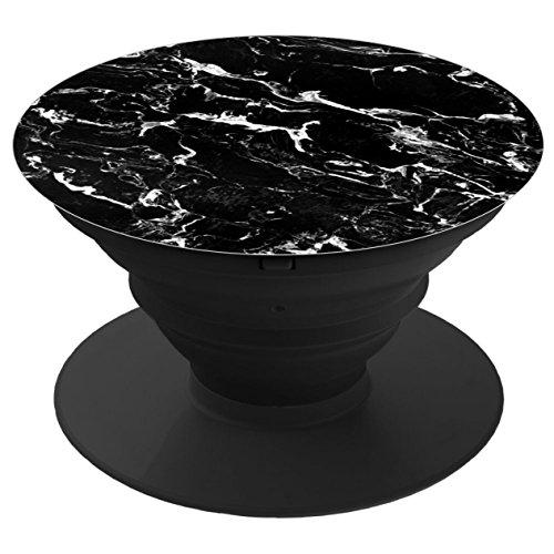 dingxingsifang. Multi-Funktion Handy Halter. Expansion Ständer und Griffigkeit Wandhalterung cokay LTD (schwarz und weiß Modern Marmor)