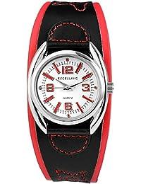 Excellanc Damen-Armbanduhr XS Analog Quarz verschiedene Materialien 195022300127