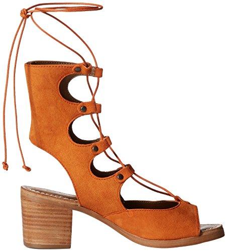 Matisse Expo Cuir Sandales Gladiateur Rust