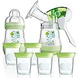 MAM Anti-Kolik Starter-Set Stillen inkl. Aufbewahrungssystem für Muttermilch // ab Geburt