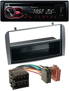 Watermark aCV electronic fa/çade dautoradio double dIN pour aLFA rOMEO 147 gT-argent