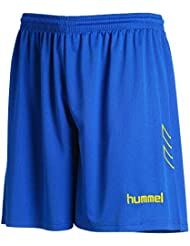 HUMMEL - Short Thor Bleu/Blanc