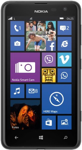 Nokia Lumia 625 Smartphone (4,7 Zoll (11,9 cm) Touch-Display, 8 GB Speicher, Windows 8) schwarz [T-Mobile Branding]