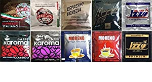 ESE Coffee Pods Mixed Selection Pack 10 x 10 types