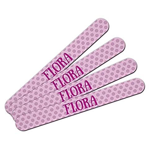Double-Sided Nail File Emery Board Set 4 Pack I Love