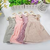 #10: ShopAIS 1pc Frock Hand Towels Hanging Hand Wipe Restaurant Kitchen Dress Towels (Assorted Color Will Be Send)