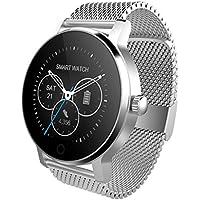 SMA-09 Bluetooth 4.0 Herzfrequenzsensor Smart Watch Mehrere UI Schrittzähler Schlafmonitor Meldungserinnerung