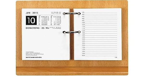 Holzuntersatz f/ür 331 Umlegekalender