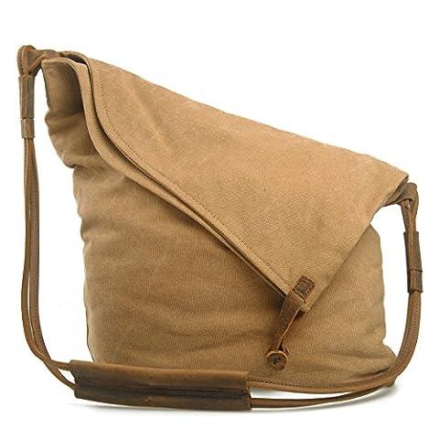 Estarer Womens Hobo Bag Canvas Shoulder Crossbody Bag
