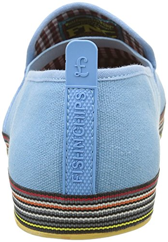 Base London Fry 2, Baskets mode homme Bleu (Fresco Blue)