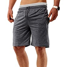 Pantalones Cortos de Running Pantalones de Chándal Pantalones Deportivos Casual y Cómoda para Hombre