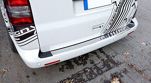 Preisvergleich Produktbild Fahrzeugspezifischer Ladekantenschutz mit Abkantung V2A Edelstahl Chrom
