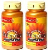 (2 Pack) - Bee Health - Propolis Vit C & Zinc | 60