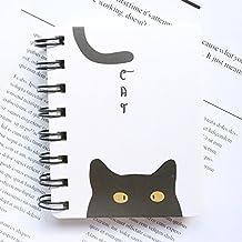 Skyeye 1Pac Cuaderno, Portada Fresca y Simple, Gato Lindo, Cuaderno Fácil de Llevar