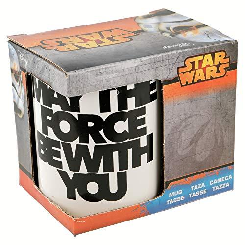 Boyz Toys Gres Taza de Star Wars 110z en una Caja de Regalo (Darth Vader)