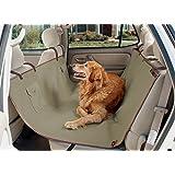 PetSafe Solvit Waterproof Hammock Seat Cover for Dogs, Pet Backseat Protector