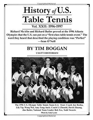 History of U.S. Table Tennis, Volume 22