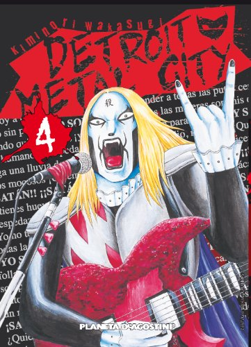 Detroit metal city nº 04 por Kiminori Wakasugi
