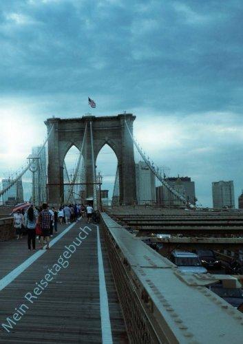 Mein Reisetagebuch - New York, USA: DIN A5, Platz für 30 Reisetage und weitere Notizen