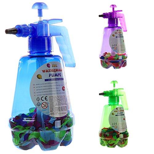 Bada Bing XXL Wasserbomben Pumpe inkl. 200 Wasserballons Wasser Spielzeug Wasserschlacht Geburtstag Geschenk 43