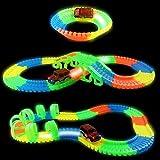 #10: Babytintin Magic Race Tracks-Bend Flex & Glow in Dark Race Track (128 Pcs)