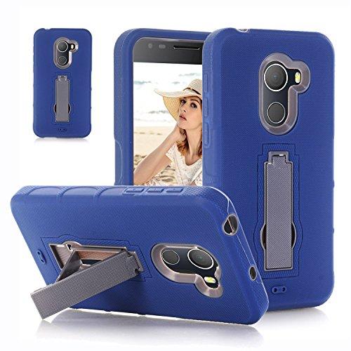 F&a® Festigkeit Smartphone Hülle mit Kickstand für Alcatel A30 Plus(1)