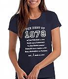 """Maglietta da Donna """"The Best of 1978"""" - Regalo di Compleanno Per 40 Anni"""
