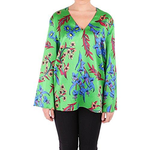 Etro Damen 178904274500 Multicolour Seide Pullover