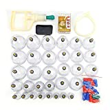 Bonnet 32chinois sous vide M015magnétique Têtes Acupuncture Massage Sets