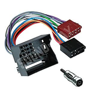 connecteur iso ford cable adaptateur autoradio pour ford transit fiesta focus fusion. Black Bedroom Furniture Sets. Home Design Ideas