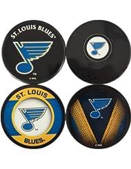 Sher-Wood St, Louis Blues NHL Biggie Puck Untersetzer (4er set)