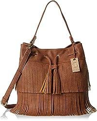 Stella Ricci Womens Shoulder Bag (Brown) (SR182HBRW)