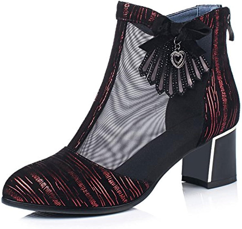 GTVERNH Damen/Women'S/Pumps/HeelsTennis - Frauen Sommer Einzelne Schuhe Dick Und Mittel -