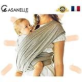 Écharpe de portage bébé CASANELLE Baby ★ OFFERT 5 Techniques de portages BONUS ★ Grand porte-bébé 530 x 58cm pour les différentes manières de porter. Grâce à ce grand drap garder votre enfant en sécurité au plus près de vous. Adoptez une position naturelle pour l'allaitement et un sommeil profond avec un maintien de votre dos. INCLUS | Tissus haute qualité 95% coton / 5% Lycra | Sac de rangement | 100% Garantie Satisfait ou Remboursé ▶▶ Baladez vous avec votre bout'chou et favorisez son éveil ♡♡