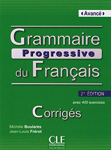 Grammaire Ongoing avancé: Corrigés