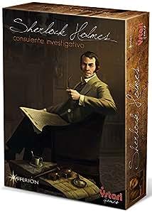 Asterion 8550 sherlock holmes consulente investigativo edizione italiana giochi e - Sherlock holmes gioco da tavolo ...