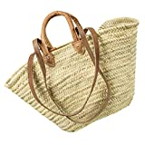 Neustanlo® Einkaufstasche Strandtasche Badetasche Palmtasche (Groß kurzer und langer Henkel)