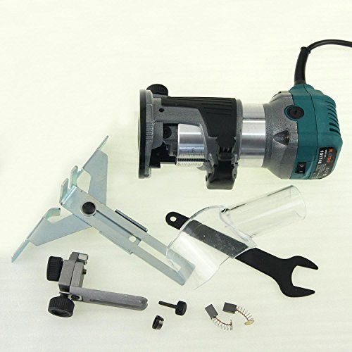"101748G 6MM 1/4"" Electric Hand Trimmer Wood Laminator Router Joiners Tool 110V …"