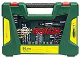 Bosch DIY 91tlg. Bohrer- und Bit-Set V-Line Titanium zum Bohren