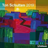 Ton Schulten 2019 - Broschürenkalender, Wandkalender, Kunstkalender 2019 - 30 x 30 cm