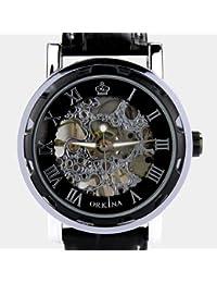 ORKINA KC023-L-Black/Black - Reloj , correa de cuero
