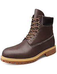 ZQ@QXIn autunno e in inverno gli uomini 's pelle cashmere più caldo scarpe casual bassa per aiutare il cotone scarpe, nero (plus) di…