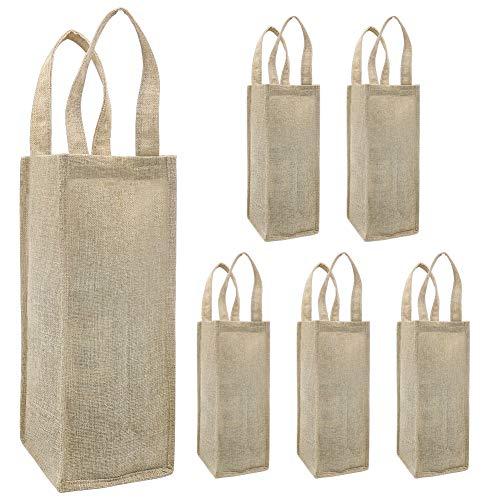 Shintop bolsas de vino de arpillera